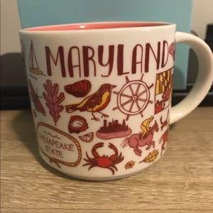 Starbucks Maryland limited edition mug